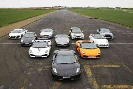 Supercars Scotland - Supercars Passenger Hot Laps or Junior or Adult Driving Experience - Save 71%