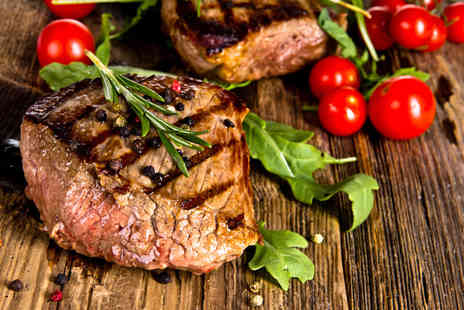 El Toro - Two course steak meal for 2 including a starter each - Save 72%