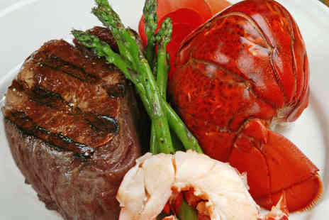 La Voss - Steak and Lobster Meal for Two - Save 48%