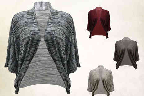 Waterfall Cardigan - Kimono Top in Choice of Colours - Save 66%