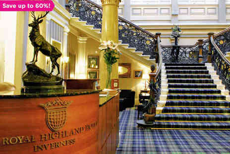 The Royal Highland Hotel - A City Centre Inverness Break and a Chance to Spot Nessie - Save 60%