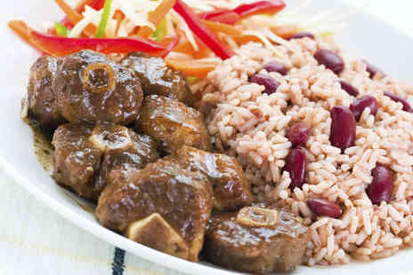 Bojangles Brasserie - Two Course Caribbean Meal for Two - Save 63%