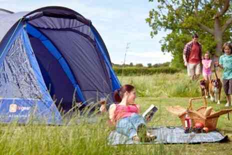 Waldegraves Holiday  - Three Night stay Camping Pitch For Up to Four People  - Save 60%