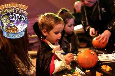 Tulleys Farm - Entry to Pumpkin Patch and Spook Fest  - Save 37%