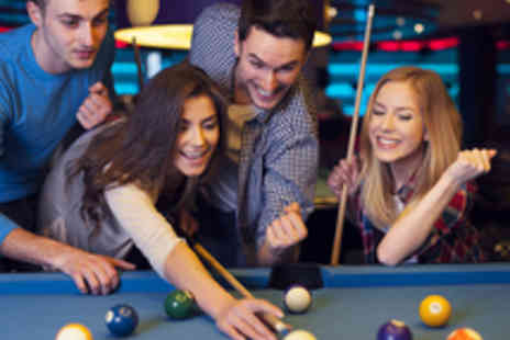 The Ball Room Sports Bar - Two Hours of Pool and Snooker for Two - Save 54%