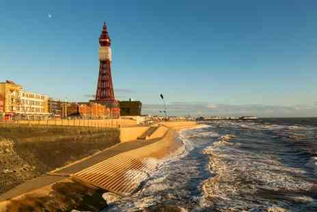 Britannia Grand Metropole - Two night Blackpool break for two, with breakfast, dinner & a bottle of wine - Save 48%