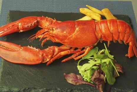 The Lavender - Four Course Seafood Menu With Lobster For Two- Save 55%