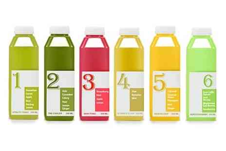 Clean Juice - Five day Clean Juice Programme  - Save 60%