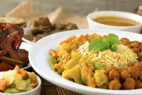 Indian Cottage - TwoCourse Meal With Side For Two - Save 65%