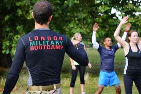 London Military Bootcamp - One Month London Military Boot Camp Session - Save 50%