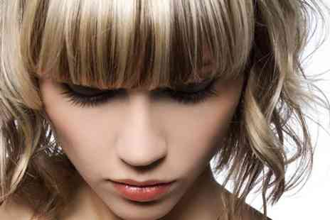 Fusion Hair Design - Cut and Blow Dry  With Highlights  - Save 56%