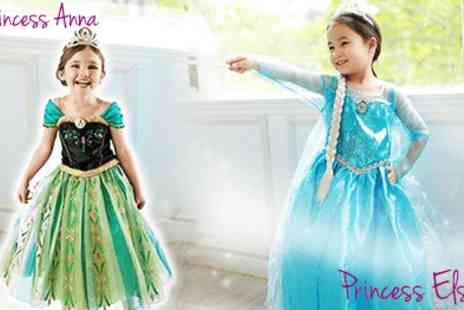 AthenaFashion - Disneys Frozen Princess Anna and Elsa the Snow Queen costumes - Save 50%