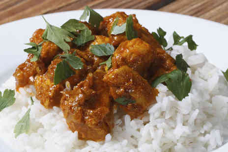 The New Delhi - Curry and rice for two - Save 66%