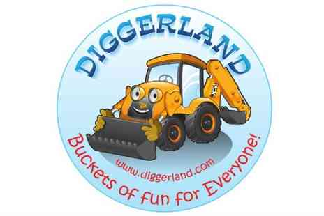 Diggerland - Family ticket to Diggerland Save 50%
