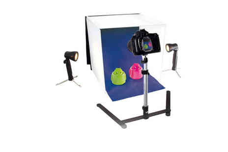 West Base Electronics - Portable Photo Studio Kit - Save 34%