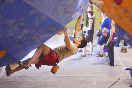 Boulder Central - Tutored Climbing Induction with Climbing Wall Access and Membership - Save 57%