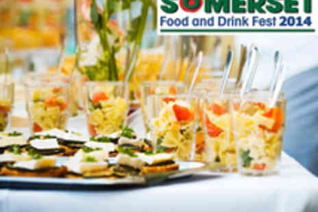 Somerset Food - Two Adult Day Tickets to the Somerset Food and Drink Fest - Save 40%