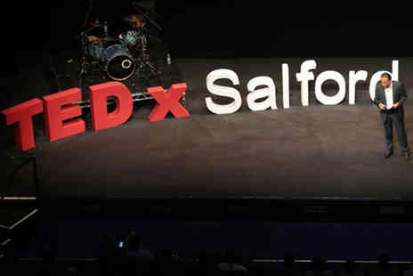 TEDxSalford - One full day ticket  - Save 41%