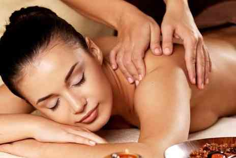 Aphrodite - Pamper package including 45 minute facial  back treatment and back, neck & shoulder massage - Save 77%