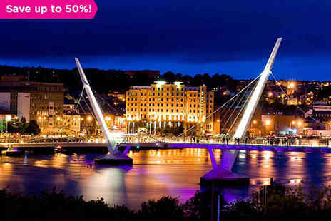 City Hotel Derry - One night stay Moving and Shaking in Thriving Derry - Save 50%