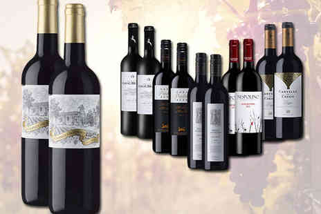 Laithwaites - 12 Bottles of Red, White, or Mix of Red and White Wine and Wine Plan Membership - Save 52%
