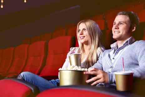 Hollywood Cinema - Hollywood Cinema Tickets With Popcorn and Drink  - Save 50%