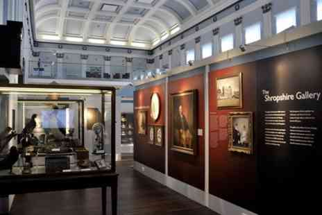 Shrewsbury Museum - Entry  to Shrewsbury Museum Art Gallery and Castle For Adult  - Save 25%