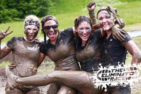 The Eliminator Race - Five Mile Mud Run with Free T Shirt - Save 36%