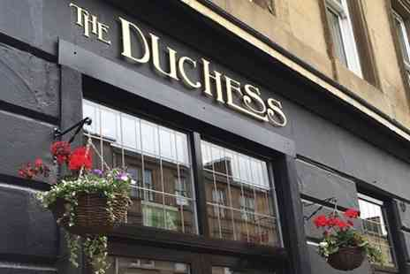 The Duchess - Burger and Beer For Two - Save 50%