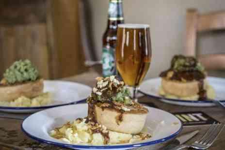 Old Cock Inn - Pie and Beer For Two - Save 48%