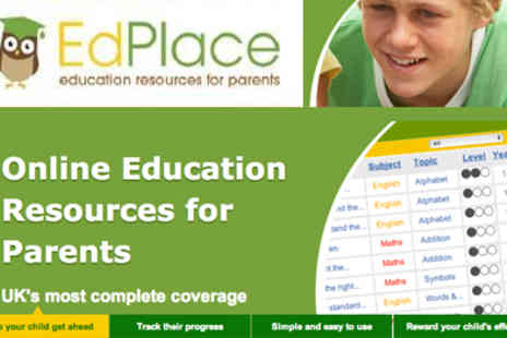 EdPlace - Proven educational online tool - Save 50%