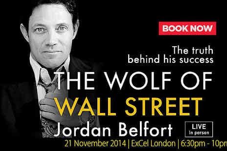success resources - Tickets to The Real Wolf of Wall Street  - Save 30%