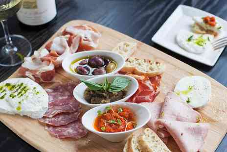 Veeno Italian Wine Cafe -  Wine Tasting with Sharing Platter for two - Save 52%
