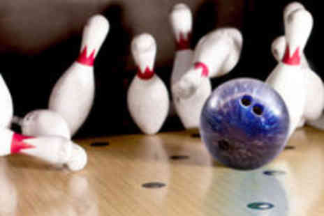 Matrix Superbowl - Game of Bowling and a Hot Dog Each for up to Six - Save 55%
