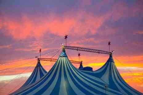 Russells International Circus - Two adult tickets to see Russells International Circus - Save 65%
