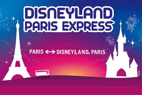 Magic Ways - Disney Park Ticket and Return Coach Ticket from Central Paris - Save 45%