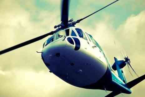 Experify - Helicopter Ride With Afternoon Tea - Save 50%