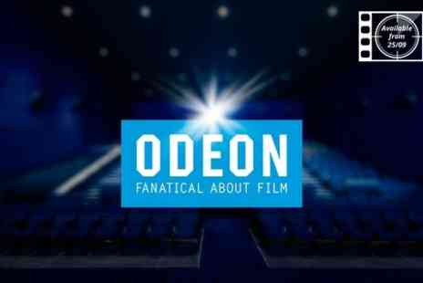ODEON Cinemas - Two Cinema Tickets - Save 50%