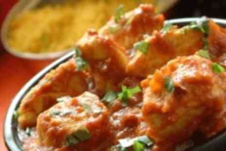 Nawaab -  Two course Indian meal for two - Save 48%