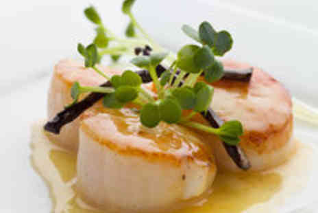 The Cafe at Porlock Weir - Seafood Tasting Menu and Sparkling Wine for Two - Save 56%