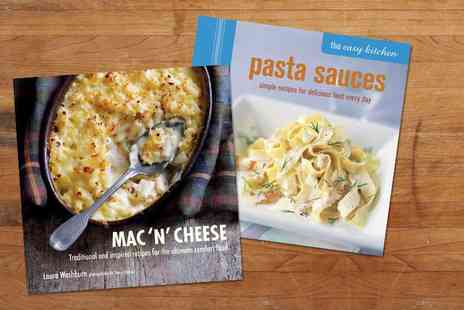 Ryland Peters and Small - Two piece pasta cookbook bundle - Save 47%