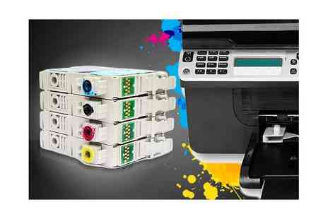 Printerinks.com -  £20 voucher spend on printer ink and toner cartridges - Save 50%