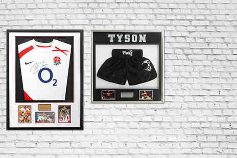 Sports Museum Memorabilia  - Voucher to spend online - Save 50%