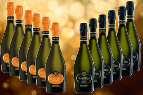 Italiana Choice - twelve bottle case of Brut and Prosecco  - Save 54%