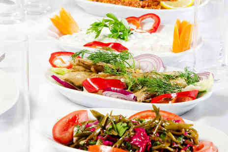 Dalyan - Mezze Platter Main Courses and Baklava for Two  - Save 71%