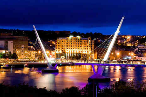 City Hotel Derry - One Night Derry City Centre Stay for Two with Breakfast Daily a Main Course Each - Save 50%
