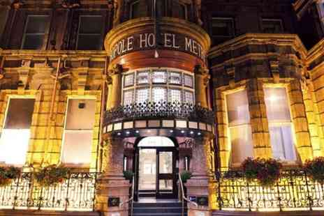 The Met Hotel - One night Stay For Two With Breakfast, Dinner and Wine - Save 51%