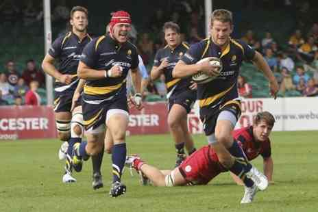 Sixways Stadium - Two Tickets to Worcester Warriors v Munster A - Save 33%