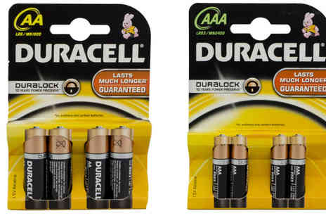 Battery Warehouse - 16 AA + 8 AAA Duracell Batteries - Save 48%
