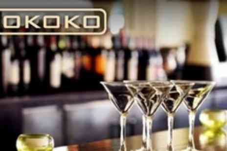 Mokoko - Cocktails and Sharing Platter For Four - Save 60%